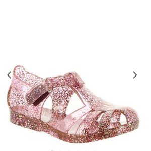 NWOT Carters glitter jelly sandals